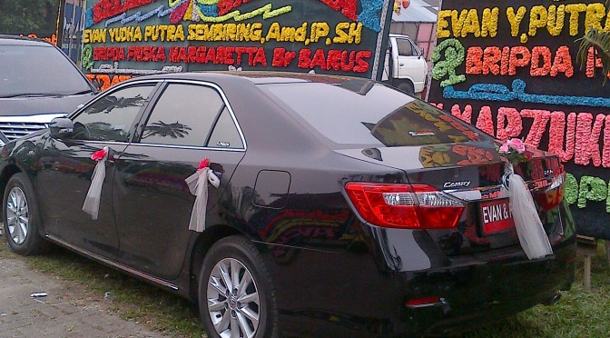 Rental Mobil New Camry