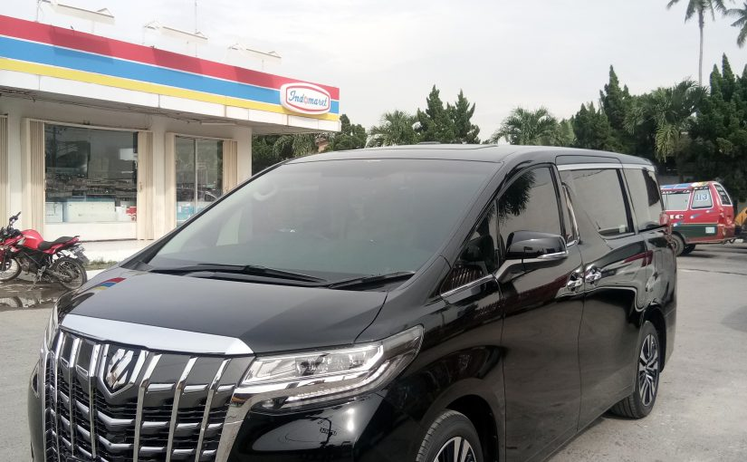 Rental Mobil di Medan All New Alphard
